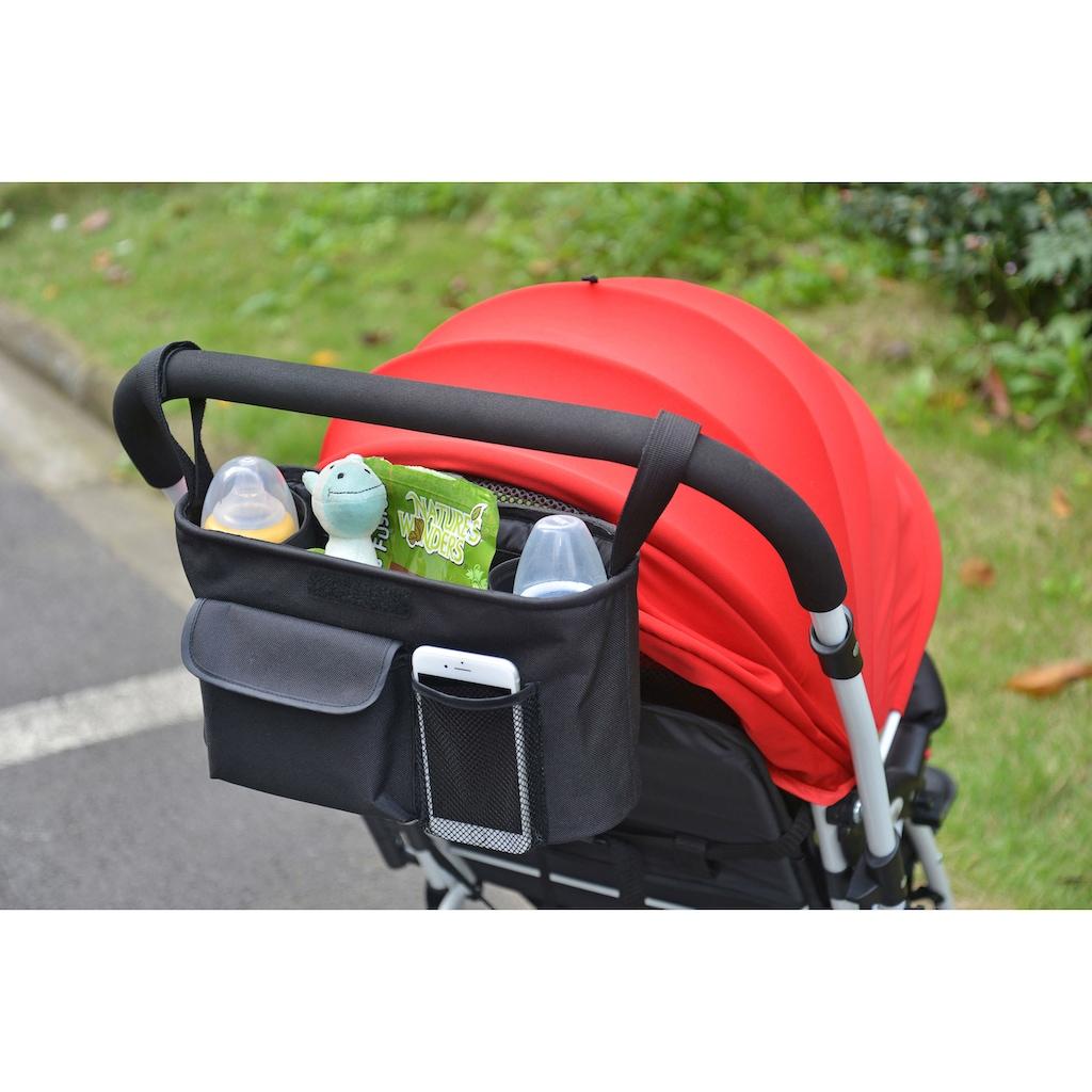 BabyGo Rücksitzorganizer, für Kinderwagen und Autositze