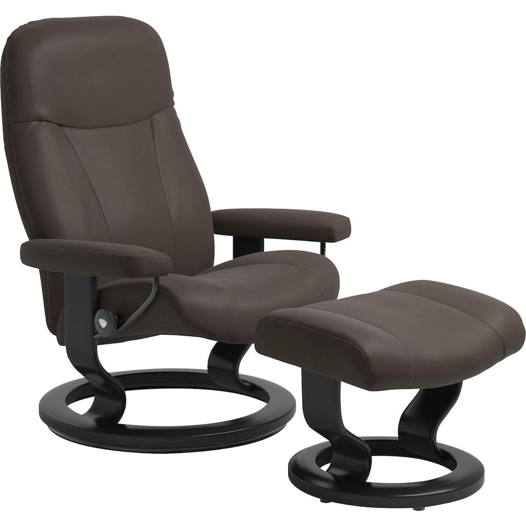 Stressless® Relaxsessel »Garda«, mit Classic Base, Größe M, Gestell Schwarz