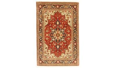 morgenland Teppich »Täbriz 50 Raj Teppich handgeknüpft rot«, rechteckig, 7 mm Höhe,... kaufen