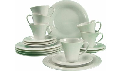 "CreaTable Kaffeeservice ""Soft"" (18 - tlg.), Porzellan kaufen"