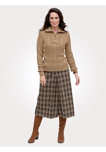 Mona Hosenrock, mit klassischem Webkaromuster kaufen