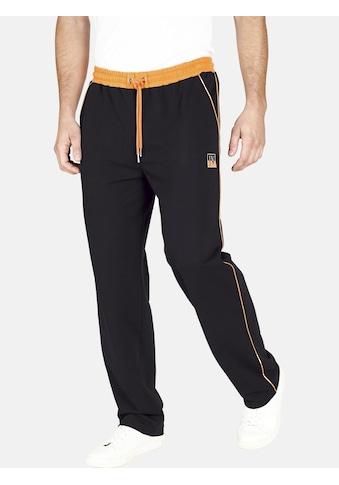Jan Vanderstorm Jogginghose »RENTIUS«, mit Einsatz in Kontrastfarbe kaufen