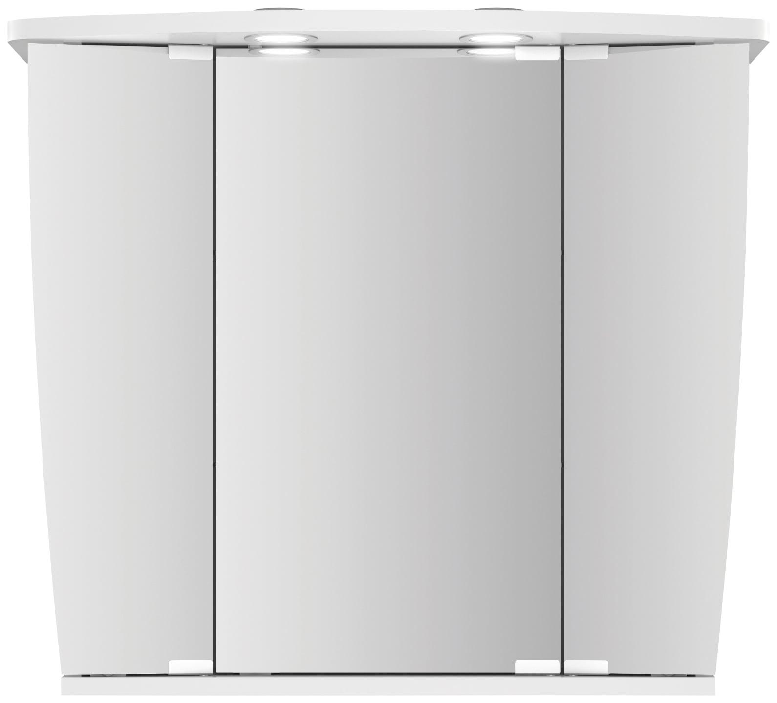 jokey Spiegelschrank Numa III, weiß, 68 cm Breite weiß Bad-Spiegelschränke Badschränke Schränke
