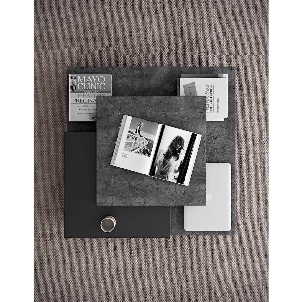 TemaHome Couchtisch »Slate«, im modernem tollen Holzdesign, Breite 90 cm