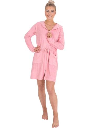 Wewo fashion Damenbademantel »031«, (1 St.), mit Tunnelzug zum Binden kaufen