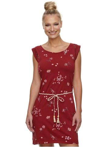 Ragwear Shirtkleid »TAMY FLOWERS«, (2 tlg., mit Bindegürtel), mit romantischem Blumen... kaufen