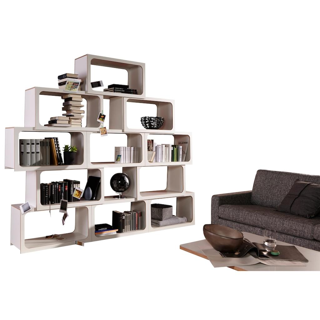 Müller SMALL LIVING Möbelklammer »BOXIT«, Wandbefestigung um gestapelte »BOXIT«-Module an der Wand zu sichern