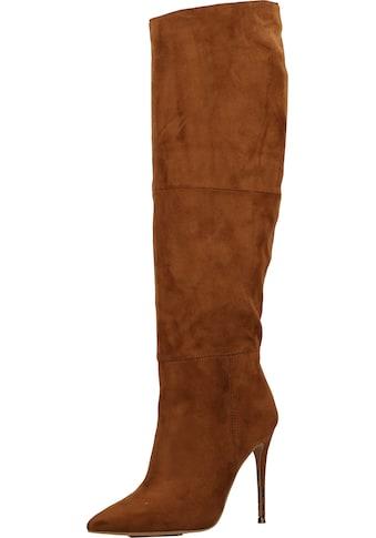 STEVE MADDEN High-Heel-Stiefel »Veloursleder« kaufen