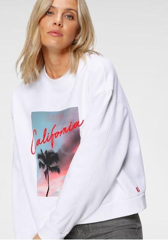 Levi's® Sweatshirt, mit Logo und California-Print kaufen