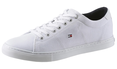 TOMMY HILFIGER Sneaker »SEASONAL TEXTILE SNEAKER«, mit heller Laufsohle kaufen