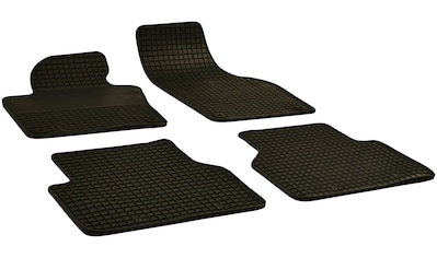 WALSER Passform-Fußmatten, VW, Tiguan, Geländewagen, (4 St., 2 Vordermatten, 2... kaufen
