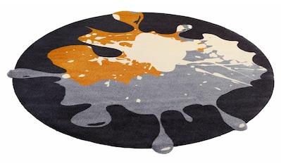 Teppich, »Circle Blob«, wash+dry by Kleen - Tex, rund, Höhe 9 mm, gedruckt kaufen