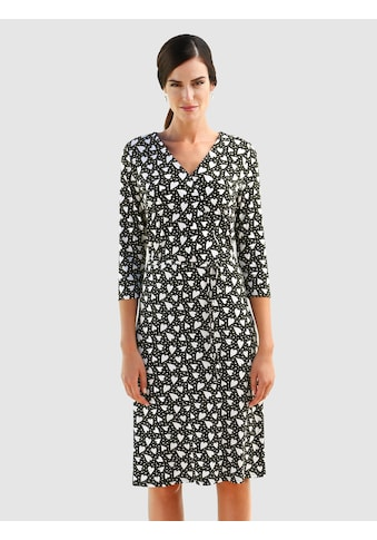 Laura Kent Jerseykleid, im grafischen Druckdessin kaufen