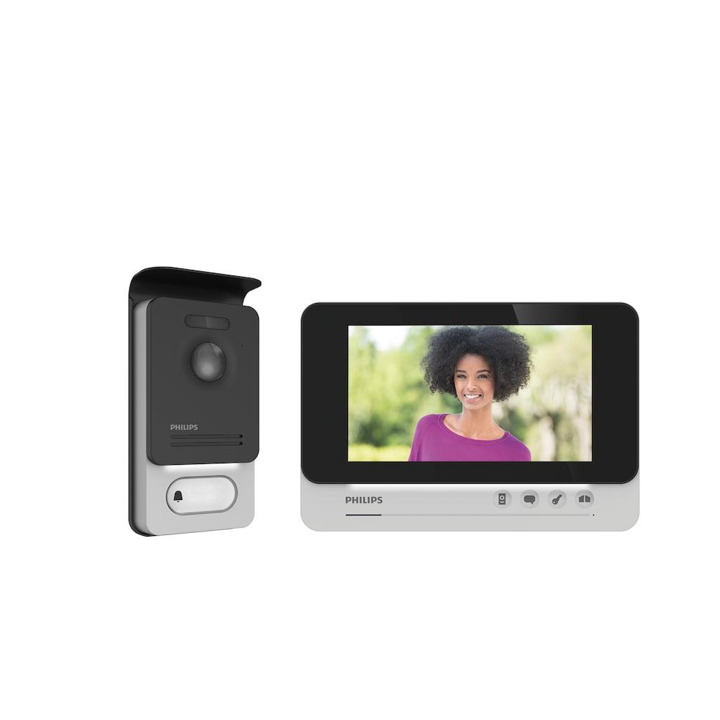 Philips Videosprechanlage - 2-Draht-Technik - 7-Zoll-Display »WelcomeEye COMFORT«