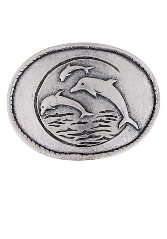 RETTUNGSRING by showroom 019° Gürtelschnalle »Delfinfamilien«, in verspieltem Design kaufen