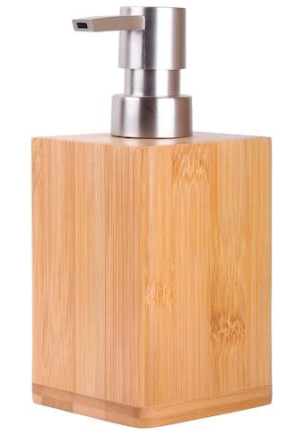 SANILO Seifenspender »Bambus«, mit stabiler und rostfreien Pumpe kaufen