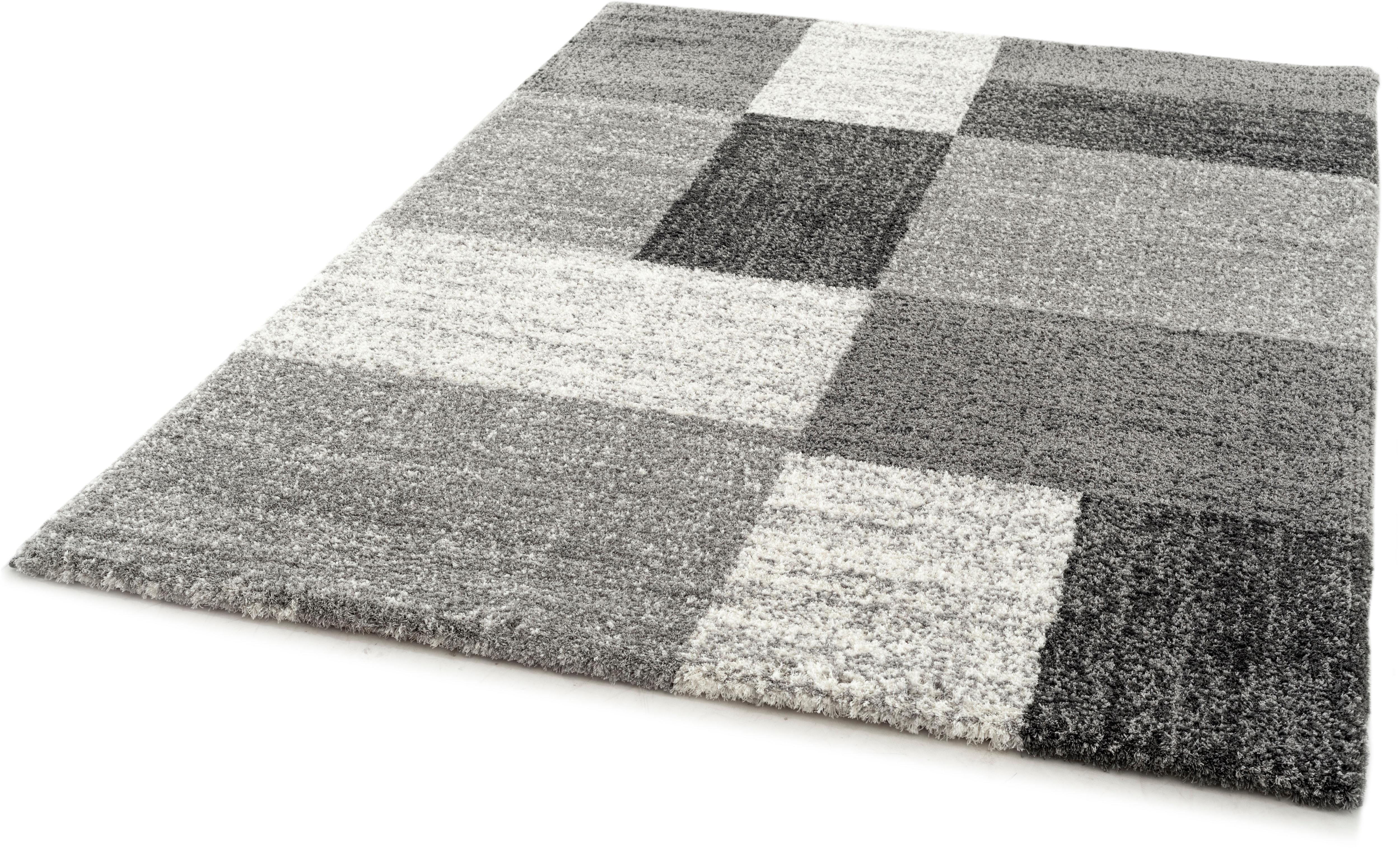 Hochflor-Teppich Delgardo K11511 Festival rechteckig Höhe 30 mm maschinell gewebt