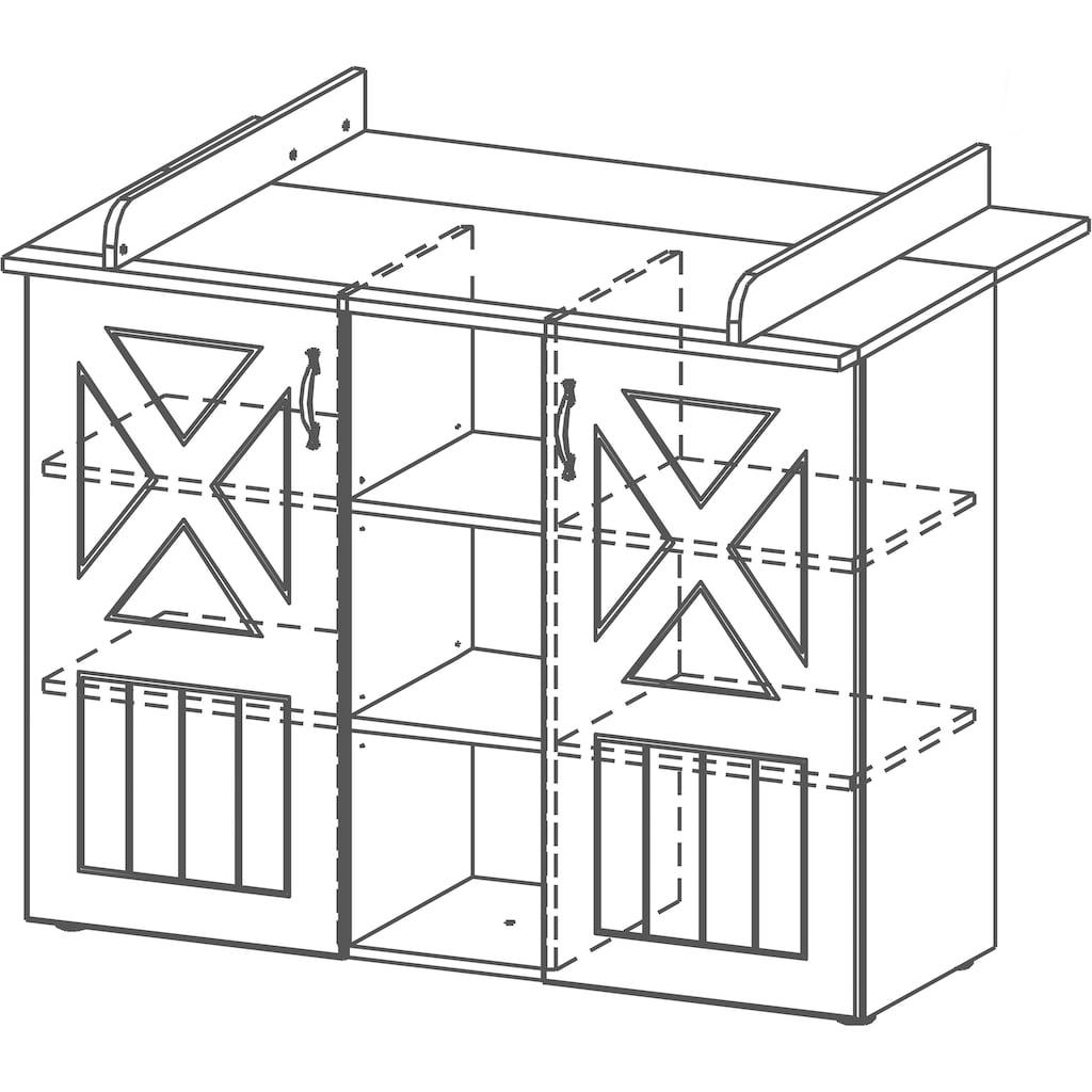 roba® Wickelkommode »Constantin«, bis 15 kg, 117 cm