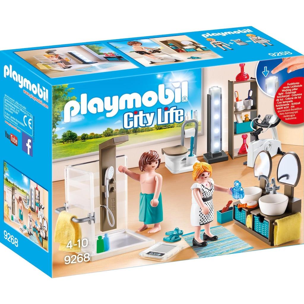 Playmobil Konstruktions Spielset Badezimmer 9268 City Life Kunststoff Baur