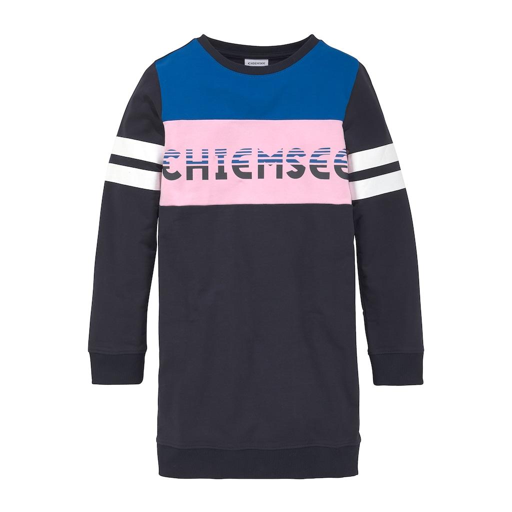 Chiemsee Sweatkleid, mit kontrastfarbenen Einsätzen