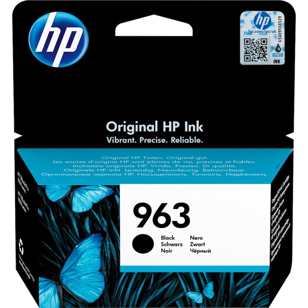 HP Tintenpatrone »hp 963 Original Schwarz«, (1 St.)