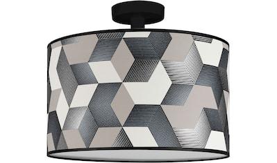 BRITOP LIGHTING Deckenleuchte »ESPACIO«, E27, Lampenschirm aus laminierter Tapete,... kaufen