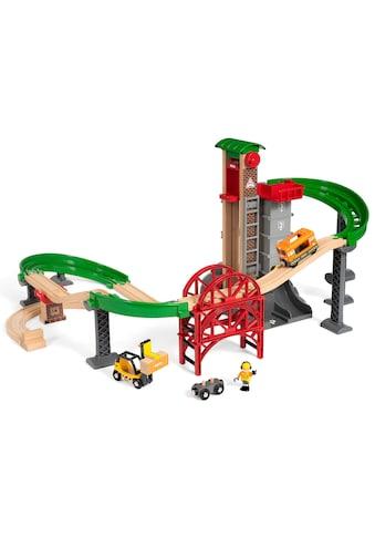 """BRIO® Spielzeug - Eisenbahn """"BRIO® WORLD Großes Lagerhaus - Set mit Aufzug"""" (Set) kaufen"""