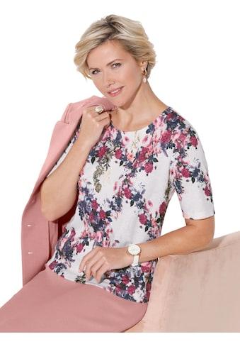 Shirt mit floralem Druck kaufen