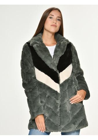 Maze knallige Fake Fur Jacke »Ladera« kaufen