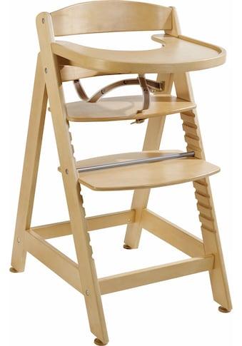 roba® Hochstuhl »Treppenhochstuhl Sit up Maxi, natur«, aus Holz kaufen
