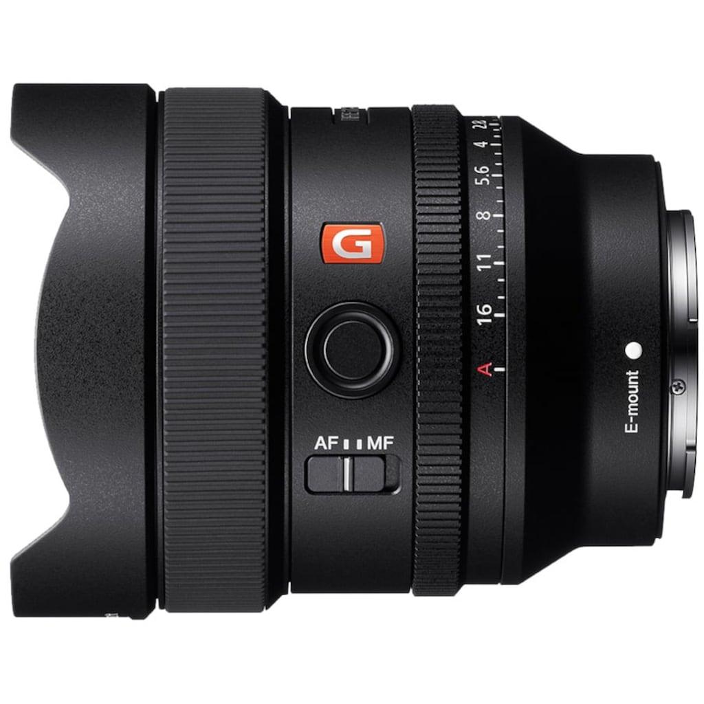 Sony Ultra-Weitwinkelobjektiv »FE 14 mm F1.8 GM MILC«