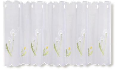 Gerster Scheibengardine »Pusti«, HxB: 50x145, mit gestickten Blumendesign kaufen