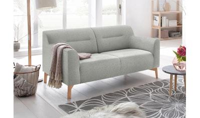 andas 2-Sitzer »Kiruna«, bequemer Sitzkomfort und Holzfüßen kaufen