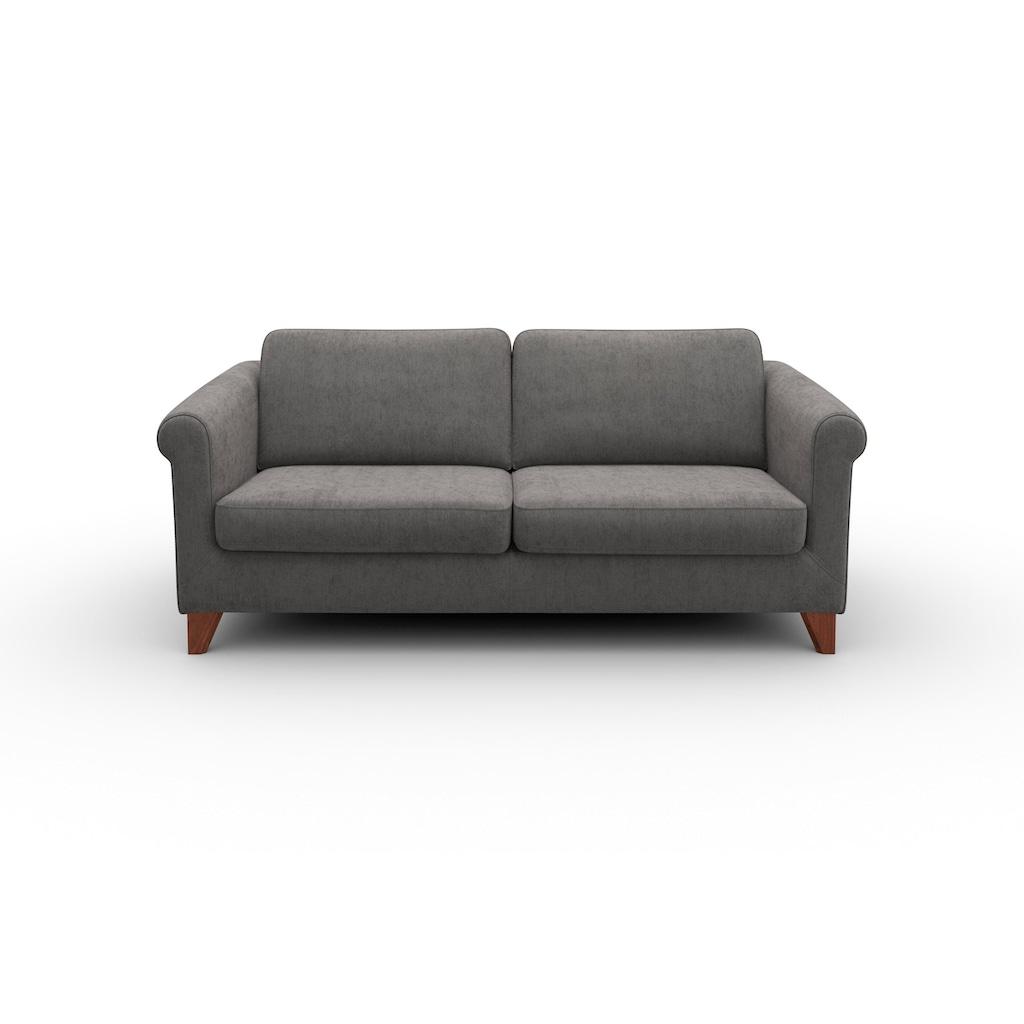 machalke® 2,5-Sitzer »amadeo«, mit geschwungenen Armlehnen, Breite 180 cm