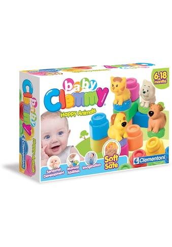 Clementoni® Spielbausteine »Clemmy Baby Tiere«, Made in Europe kaufen