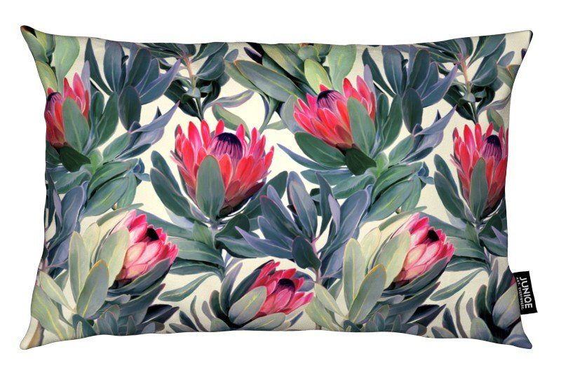 Dekokissen Painted Protea Pattern Juniqe