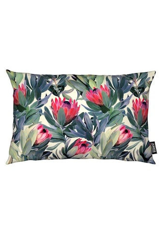Dekokissen, »Painted Protea Pattern«, Juniqe kaufen