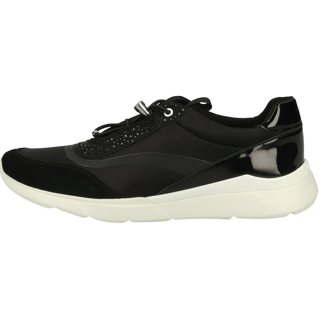 Geox Sneaker »Veloursleder/Textil«