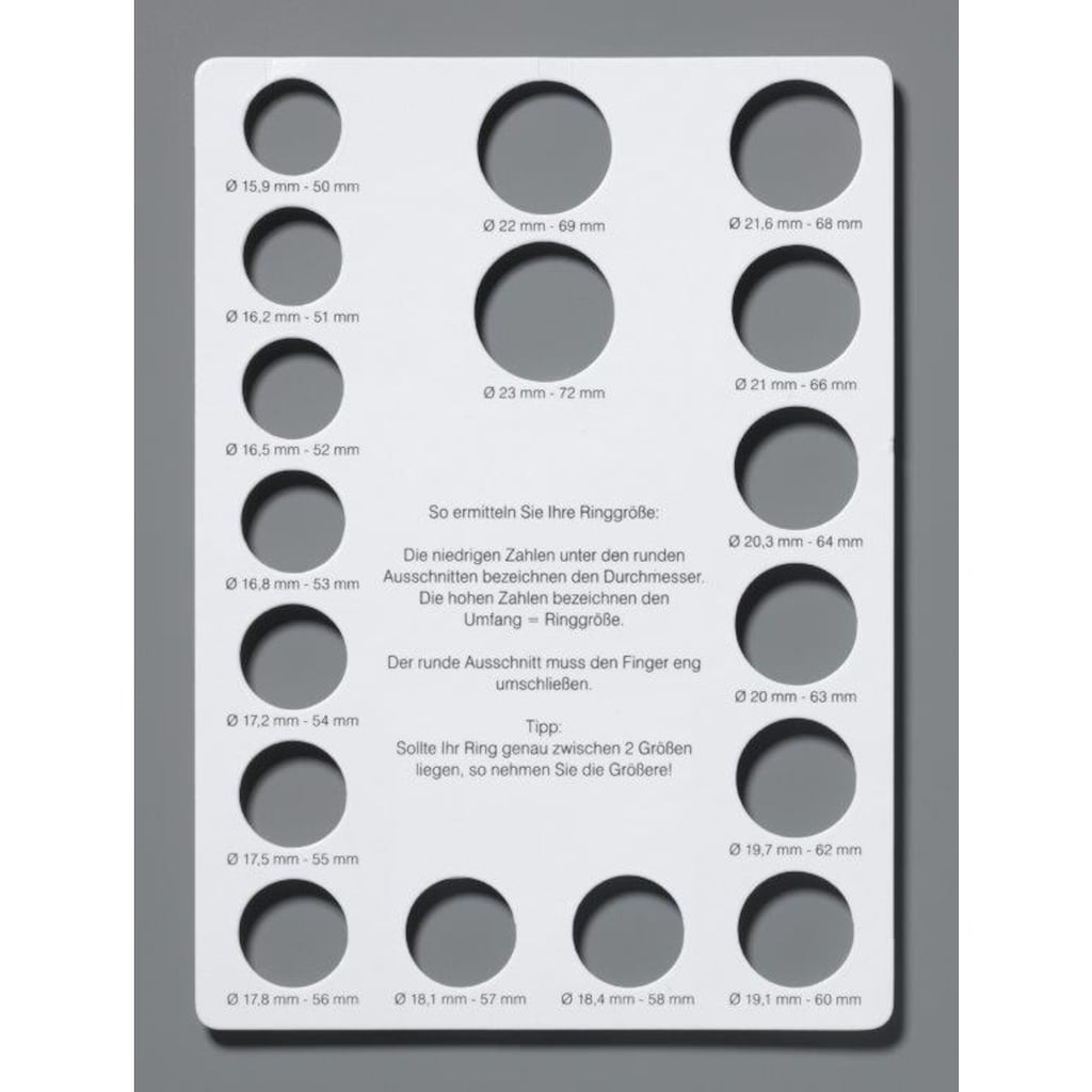 qudo Ring-Set »Firenze, O600037, O600039, O600040, O600042«, (Set, 2 tlg.), mit Zirkonia