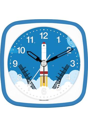 EUROTIME Kinderwecker »Rakete blau, 27136-08« kaufen