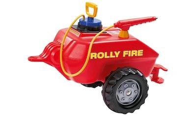 ROLLY TOYS Kinderfahrzeug - Anhänger »Vacumax Fire«, Tanker für Trettraktoren kaufen