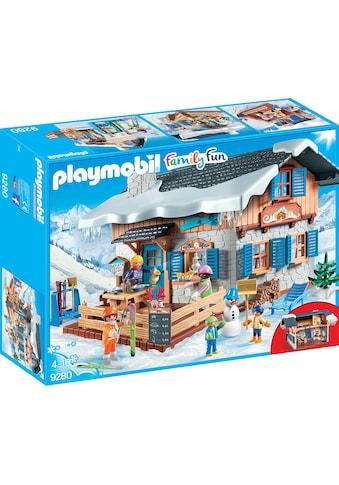 "Playmobil® Konstruktions - Spielset ""Skihütte (9280), Family Fun"", Kunststoff kaufen"