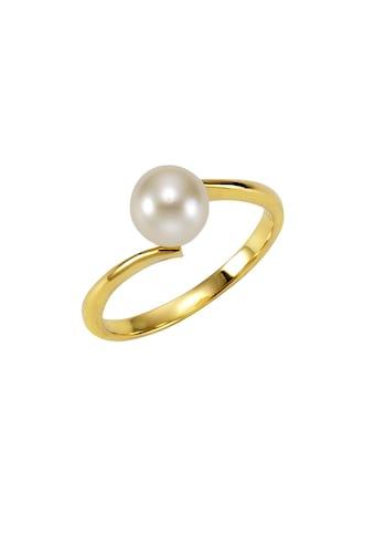 Fascination by Ellen K. Ring »375/ -  Gelbgold Perle weiß« kaufen