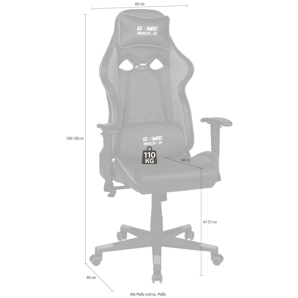 Duo Collection Gaming Chair »Game-Rocker G-20«