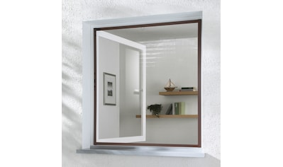 hecht international Insektenschutz-Fenster »MASTER SLIM«, braun/anthrazit, BxH:... kaufen