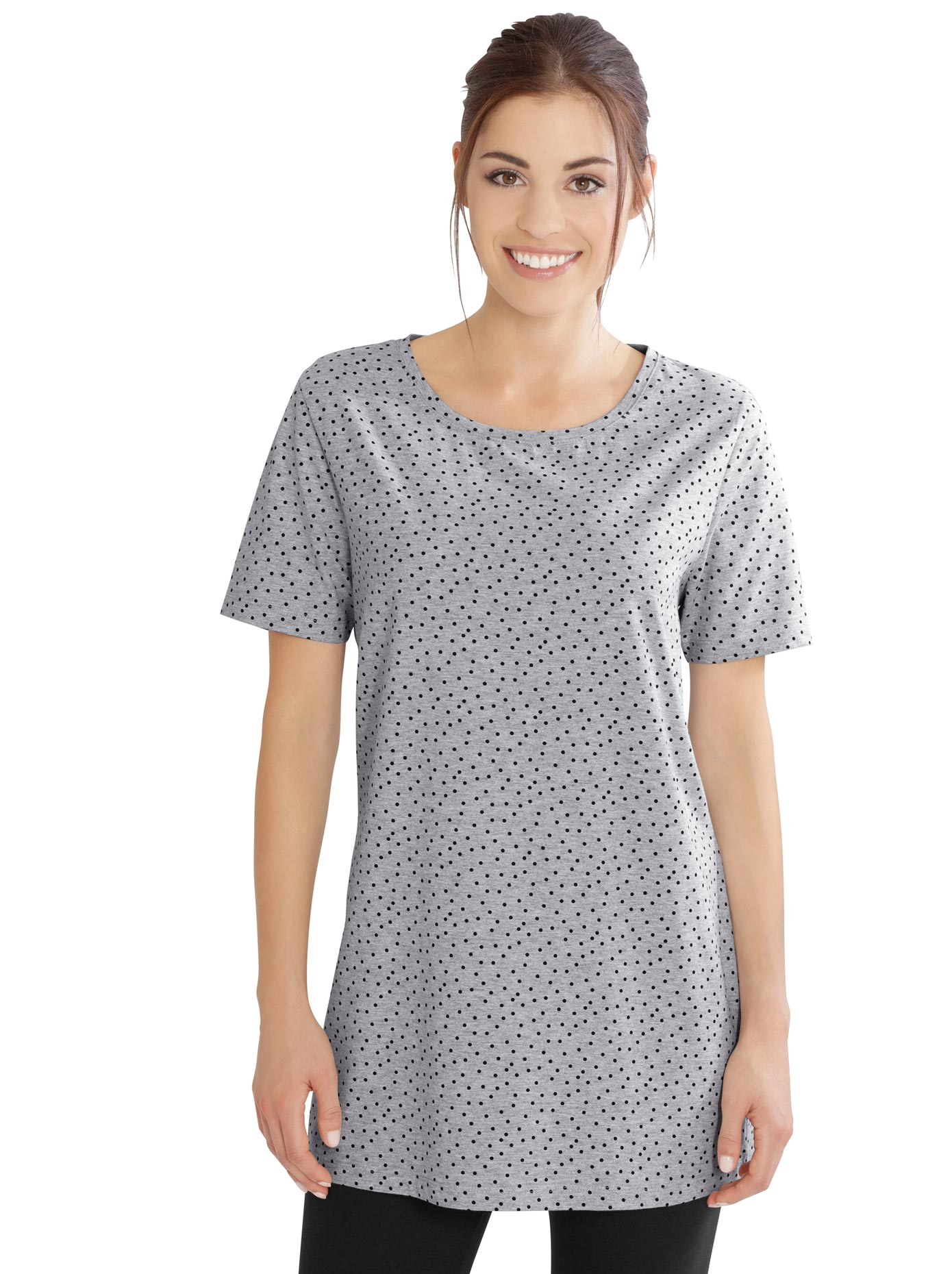 Longshirt | Bekleidung > Shirts > Longshirts | Grau