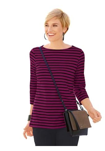 Casual Looks Shirt im lässigen Streifen - Dessin kaufen