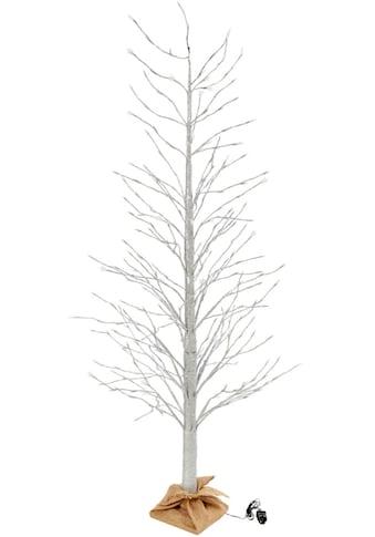 LED Baum »Fabienne«, Warmweiß, 306-flammig, im Silber-Glitter-Look kaufen