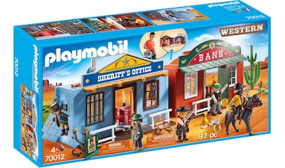 "Playmobil® Konstruktions - Spielset ""Mitnehm - Westerncity (70012), Western"", Kunststoff kaufen"