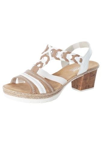 Rieker Sandalette, im sommerlichen Look kaufen